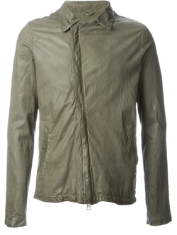 Giorgio Brato   - Zip Leather Jacket