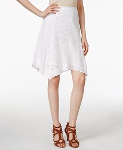 Lauren Ralph Lauren  - Eyelet Skirt