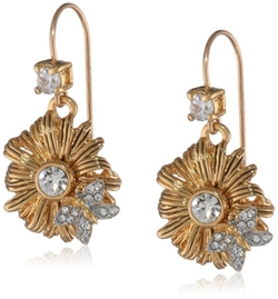 Juicy Couture - Flower Drop Earrings