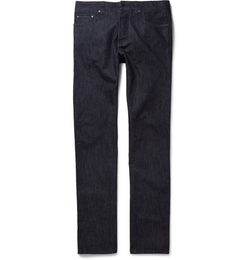 Etro - Rinsed Cotton & Cashmere-Blend Jeans