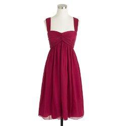 J. Crew - Suzy Dress In Silk Chiffon