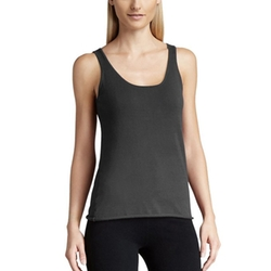 Parisbonbon - Cashmere Rolled Trim Tank Top