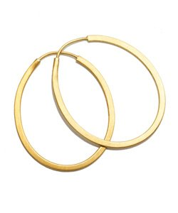 Arena CPH - Gold Lona Hoops Earrings