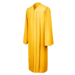 Grad Shop - Matte Gold Elementary Gown