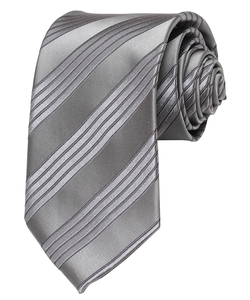 Alara - Tonal Stripe Silk Tie