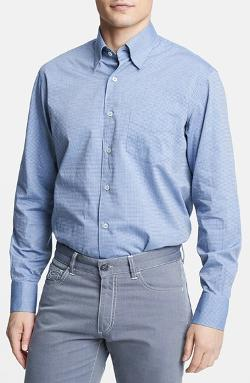 Canali  - Regular Fit Italian Sport Shirt