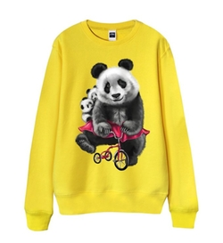 Jellan - Cycling Panda Sweater