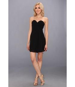 Faviana - Short Strapless Sweetheart Dress