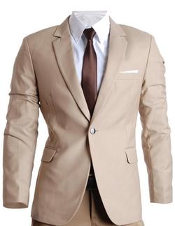Flat Sevem - Mens Slim Fit Premium Blazer