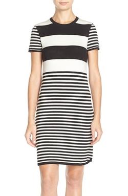 Eliza J - Stripe Sheath Dress
