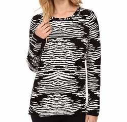 Calvin Klein - Animal Print Sweater