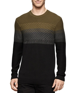 Calvin Klein Jeans - Colorblock Knit Sweater