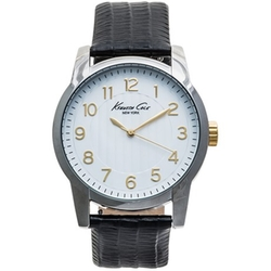 Kenneth Cole - Interchangeable Leather Strap Watch