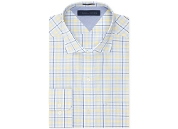 Tommy Hilfiger  - Easy Care Yellow Multi-Check Dress Shirt