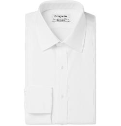Kingsman - Turnbull & Asser White Tuxedo Shirt