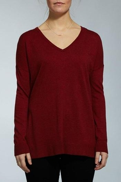 Jana - V-Neck Pullover Sweater
