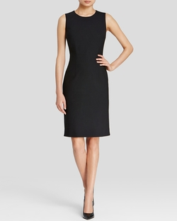 Boss Black - Dirusa Stretch Wool Sheath Dress