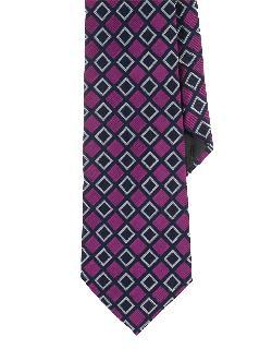 LAUREN RALPH LAUREN  - Patterned Silk Jacquard Tie