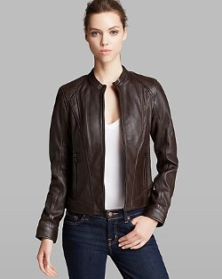 Marc New York  - Randy Structured City Leather Jacket