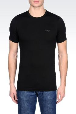 Armani Jeans - Crew Neck T-shirt In Stretch Cotton