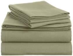Pinzon By Amazon.com - Cotton Flannel Bed Sheet Set