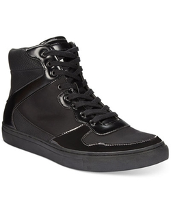 Bar III - Faux Snake Hi-Top Sneakers