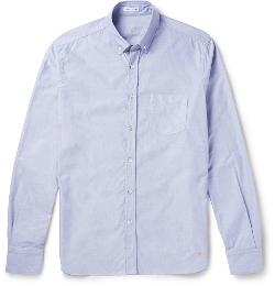 Tomas Maier - Cotton-Chambray Oxford Shirt