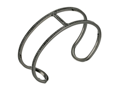 Michael Kors  - Delicate Pave Maritime Open Cuff Bracelet