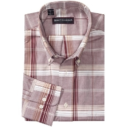Kenneth Gordon  - Plaid Sport Shirt