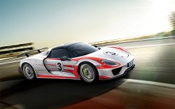 Porsche - 918 Spyder with Weissach Package Car