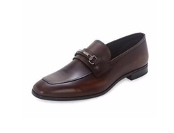 Prada - Leather New Bit Loafers