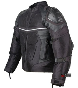 Jackets 4 Bikes - Pro Leather & Mesh Waterproof Jacket