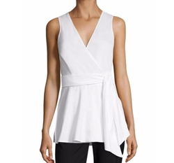 Diane von Furstenberg  - Sleeveless Wrap Top