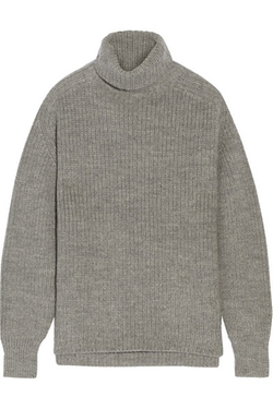Étoile Isabel Marant  - Laney Ribbed Wool And Alpaca-blend Turtleneck Sweater