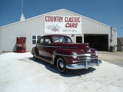 Plymouth  - 1947 Sedan