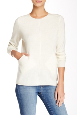 Kier & J - Welt Pocket Cashmere Sweater