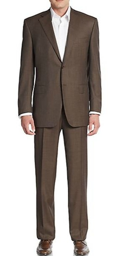 Canali - Regular-Fit Weave Wool Suit