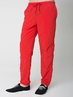 American Apparel - Nylon Track Pant Light