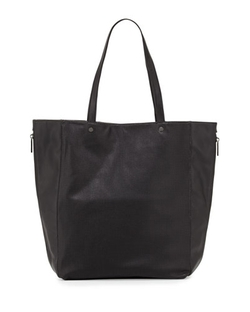 Neiman Marcus   - Perforated Side-Zip Tote Bag