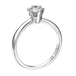 Nd Outlet - Engagement Gia - Round Diamond Solitaire Engagement Ring