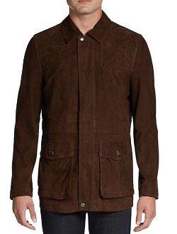 Hickey Freeman - Suede Field Jacket