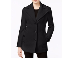 Calvin Klein - Wool-Cashmere Blend Peacoat