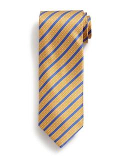 Stefano Ricci - Bold Stripe Print Silk Tie