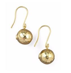 Ippolita - Hammered Ball Earrings