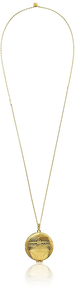 House Of Harlow 1960 - Medallion Locket Necklace