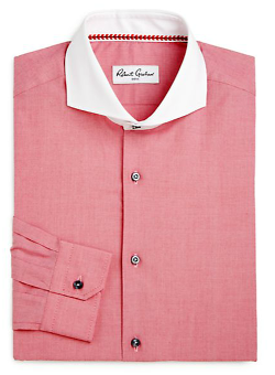 Robert Graham  - Contrast Collar Button-Down Shirt