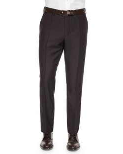 Incotex  - Benson Sharkskin Wool Trousers