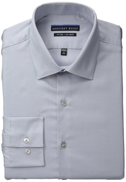 Geoffrey Beene  - Fitted No Iron Sateen Shirt