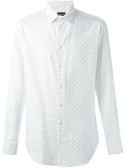 Emporio Armani - Micro Dot Pattern Shirt