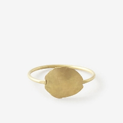 Kathleen Whitaker - Medium Foil Ring